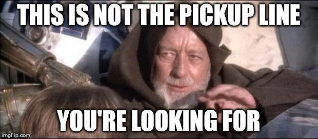 Star Wars Obi Wan Kenobi These arenu0027t the droids youu0027re looking - obi baumarkt k chenm bel