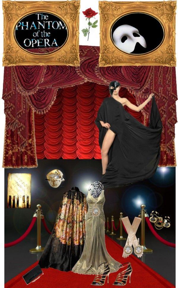 """The Phantom of the Opera"" by monica-jordan on Polyvore"