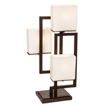 Possini Euro Design On The Square Accent Table Lamp