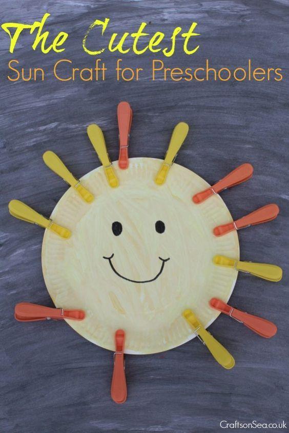 The Cutest Sun Craft For Preschoolers Fun Activities For Kids