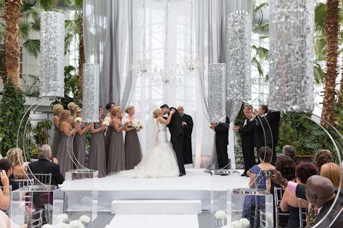 Chicago Wedding At Crystal Gardens On Navy Pier