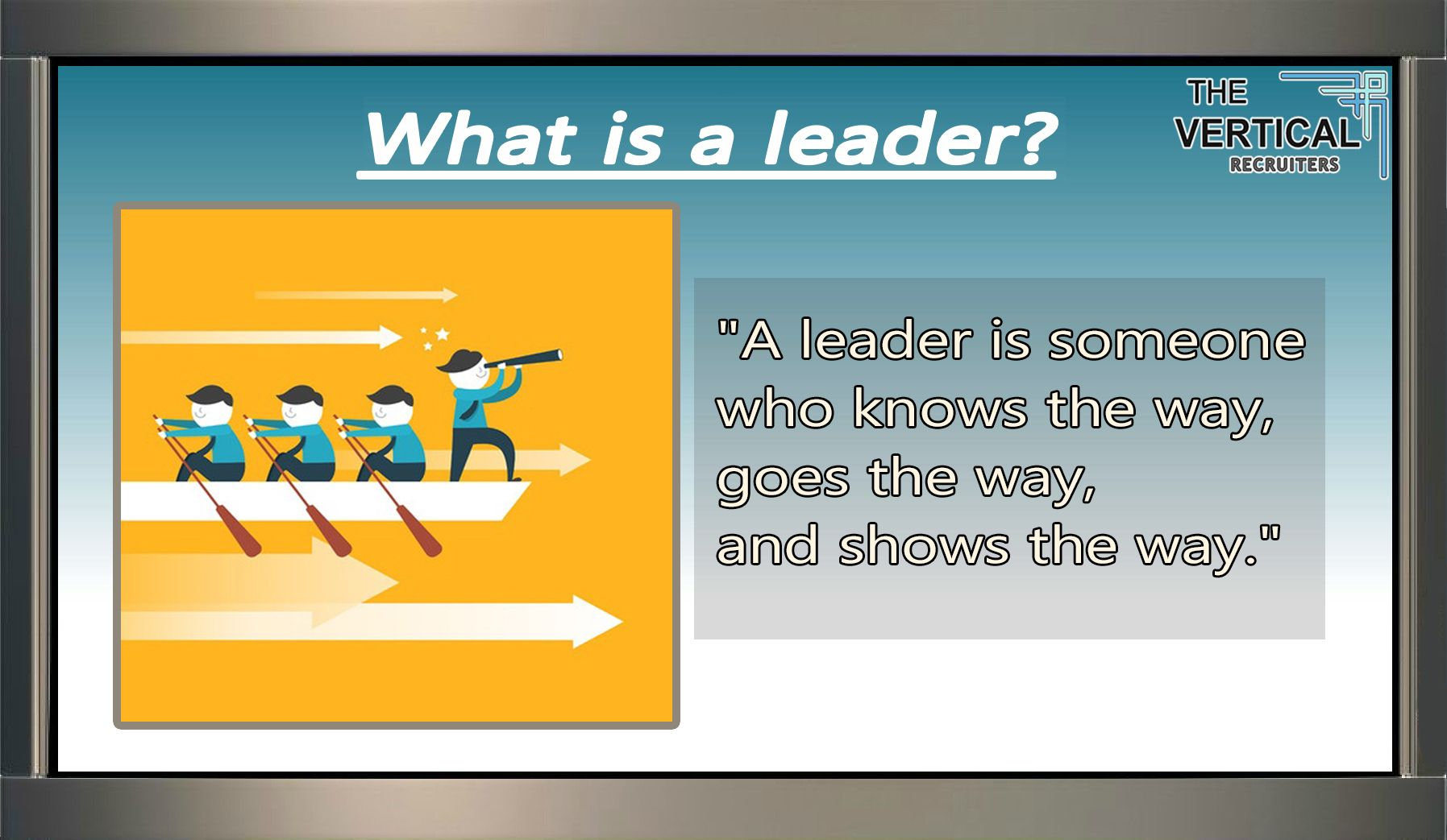 What Is A #Leader?