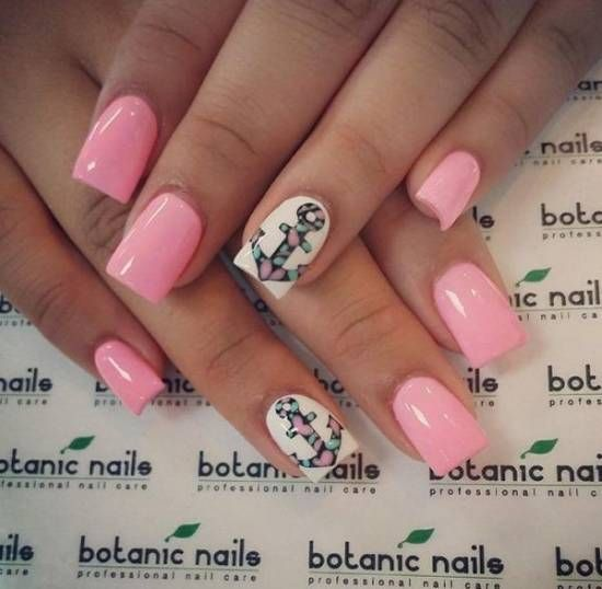 18 Creative Anchor Nail Art Tutorials Nail Design Ideaz Nails
