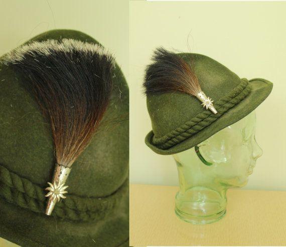 Vintage Horse Hair Brush Tyrolean Austrian German Etsy Horse Hair Vintage Horse Hair Brush