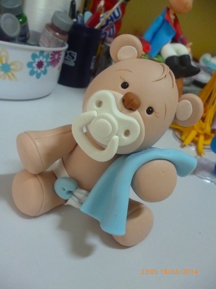 bear with dummy