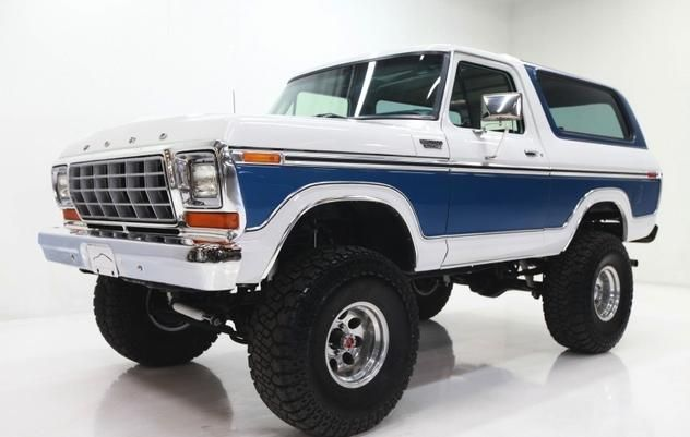 Autotrader Classics 1978 Ford Bronco Sport Utility Suv White 8 Cylinder Automatic 4 Wheel Drive American Classics S Ford Bronco 1978 Ford Bronco Trucks