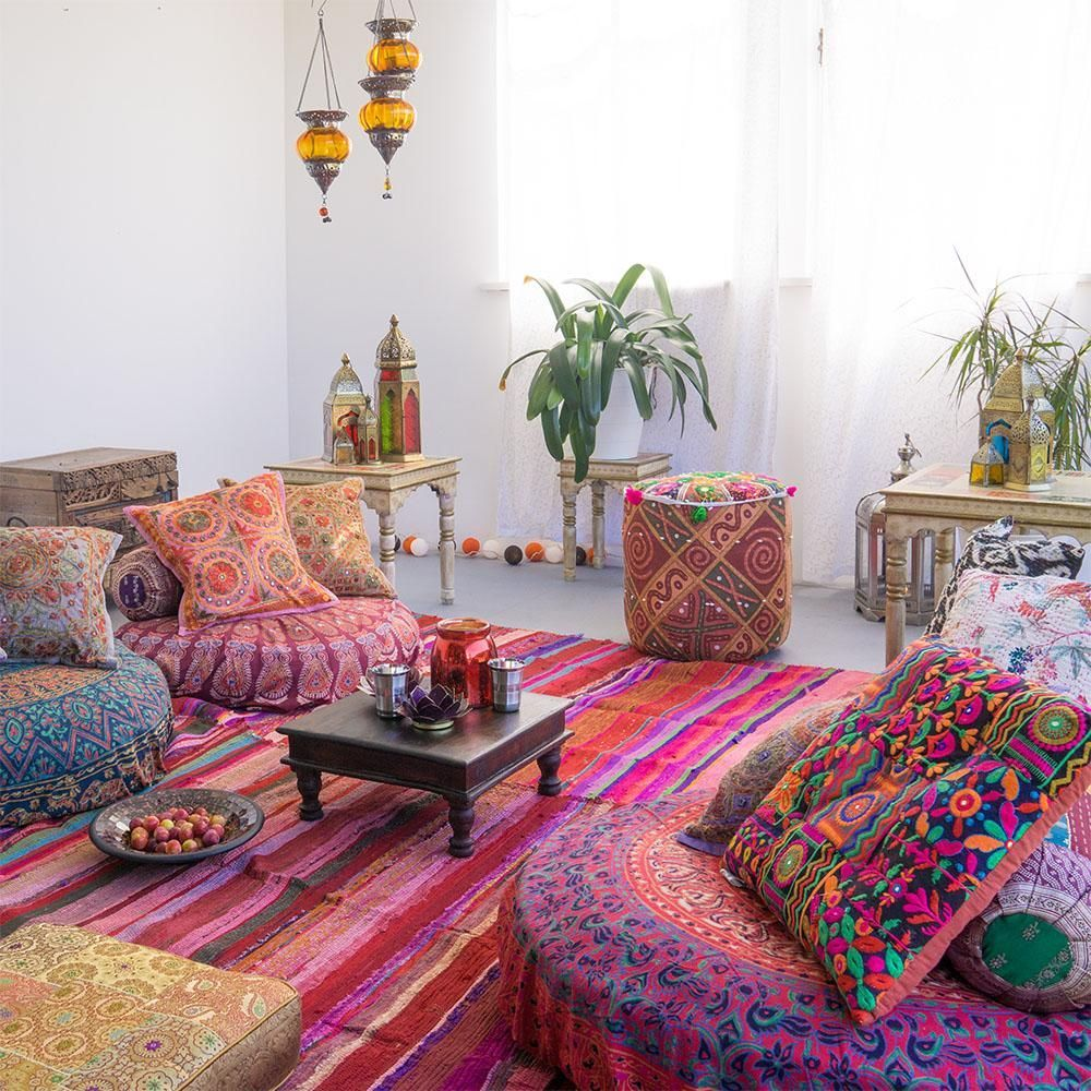 Orientalische Deko Bilder & Ideen COUCH in 6  Bohemian room