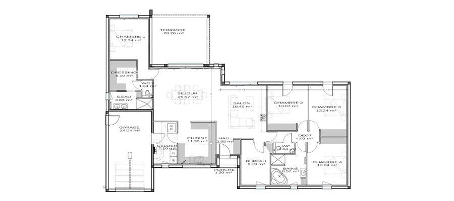 Plan de maison Maison Pinterest Plans de maison, Plans et - Logiciel Pour Faire Un Plan De Maison