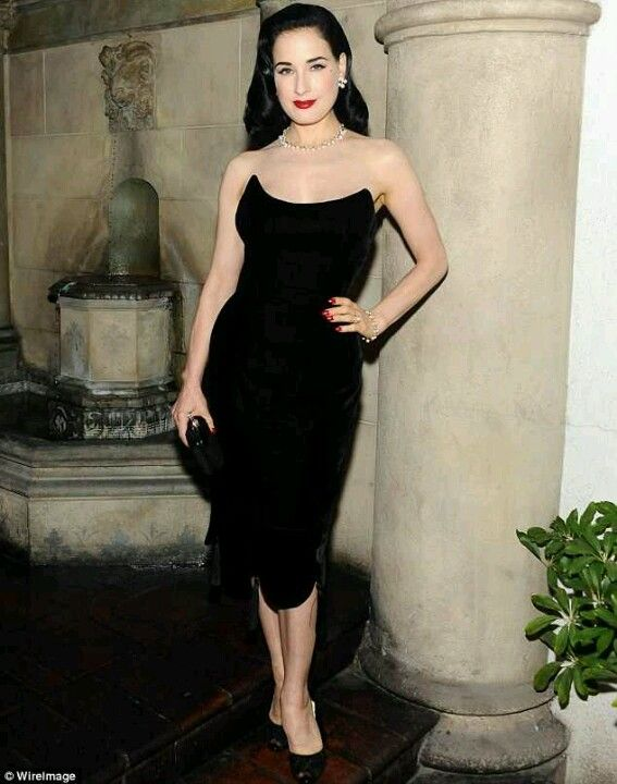 Classic Glam LBD/ Dita | Wear Me Out | Ready To Wear | Pinterest