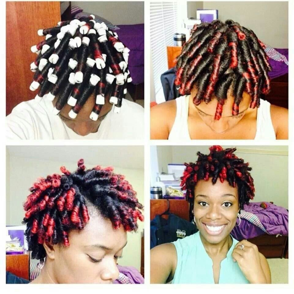 How To Curl Short Hair, Natural Hair Styles