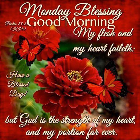 Monday Blessing Good Morning Thank God For Life Monday