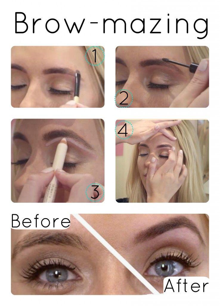 Perfect Eyebrow Make Up With Benefit Make Up Tips Makeup