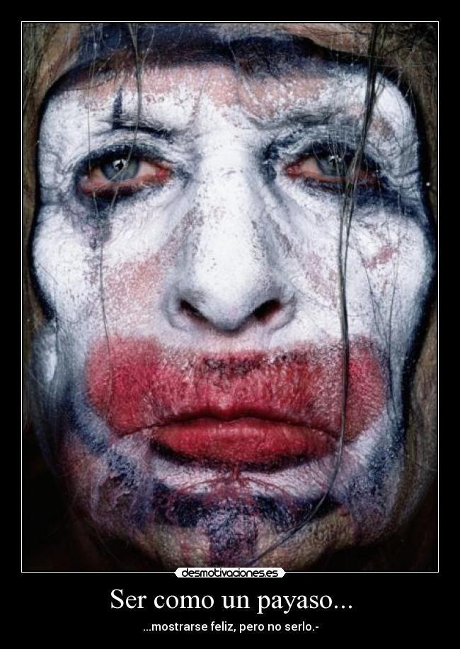Payasos Tristes Caras Pinterest Erwin Olaf Olaf Y Scary Clowns