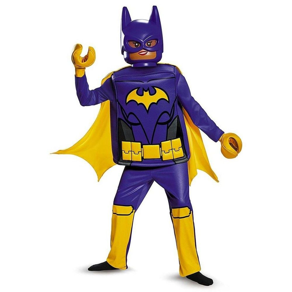 Halloween Disguise Batman LEGO Movie Batgirl Deluxe Girls