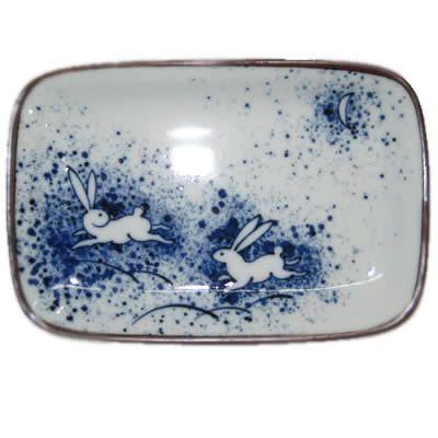 Japanese Dishes - Ceramic Running in Moonlight Dish