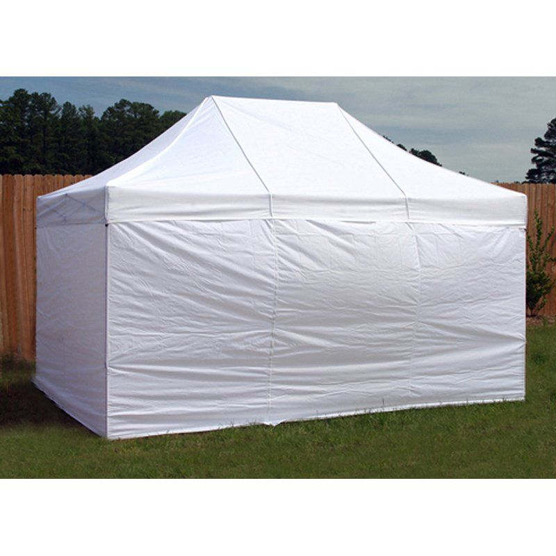 King Canopy 10 x 15 ft. 4 pk. Instant Canopy Side Walls - INASW4P15WH  sc 1 st  Pinterest : canopies with walls - memphite.com