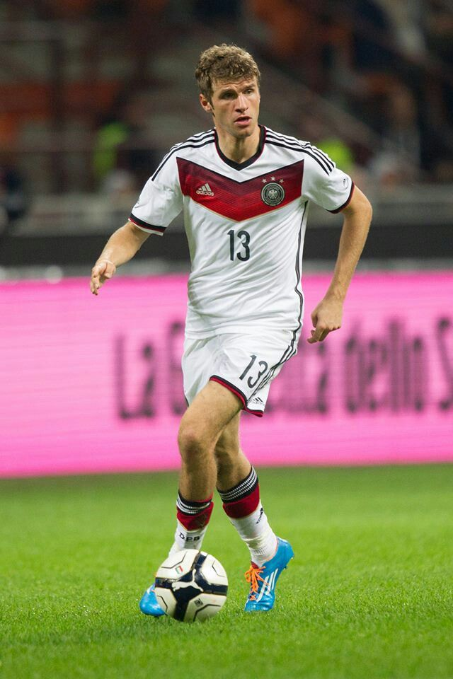 Thomas Muller Germany 13 Hat Trick Vs Portugal 2014 Germany Football Team Germany Football Soccer Players