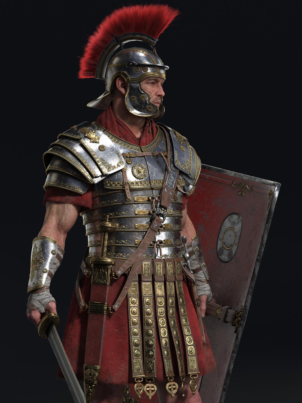 Artstation Rome Jaedeok Kim Roman Armor Roman Warriors Roman Tattoo