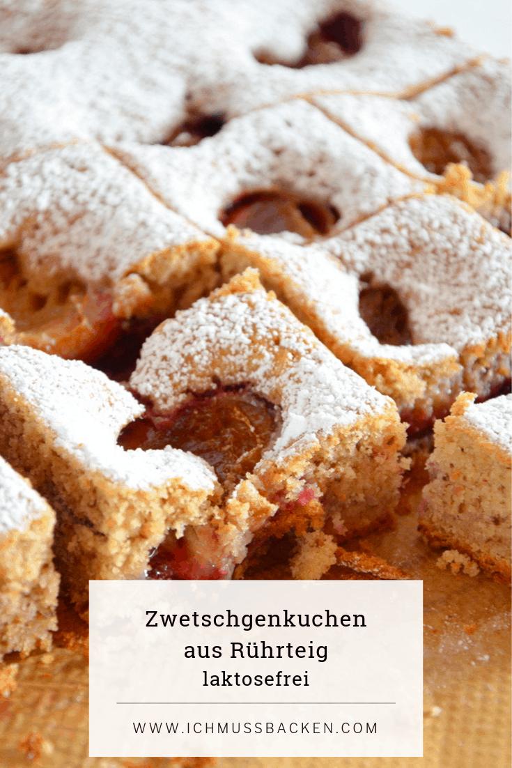 Zwetschgenkuchen aus Rührteig - einfach, saftig und aromatisch Zwetschgenkuchen aus Rührteig
