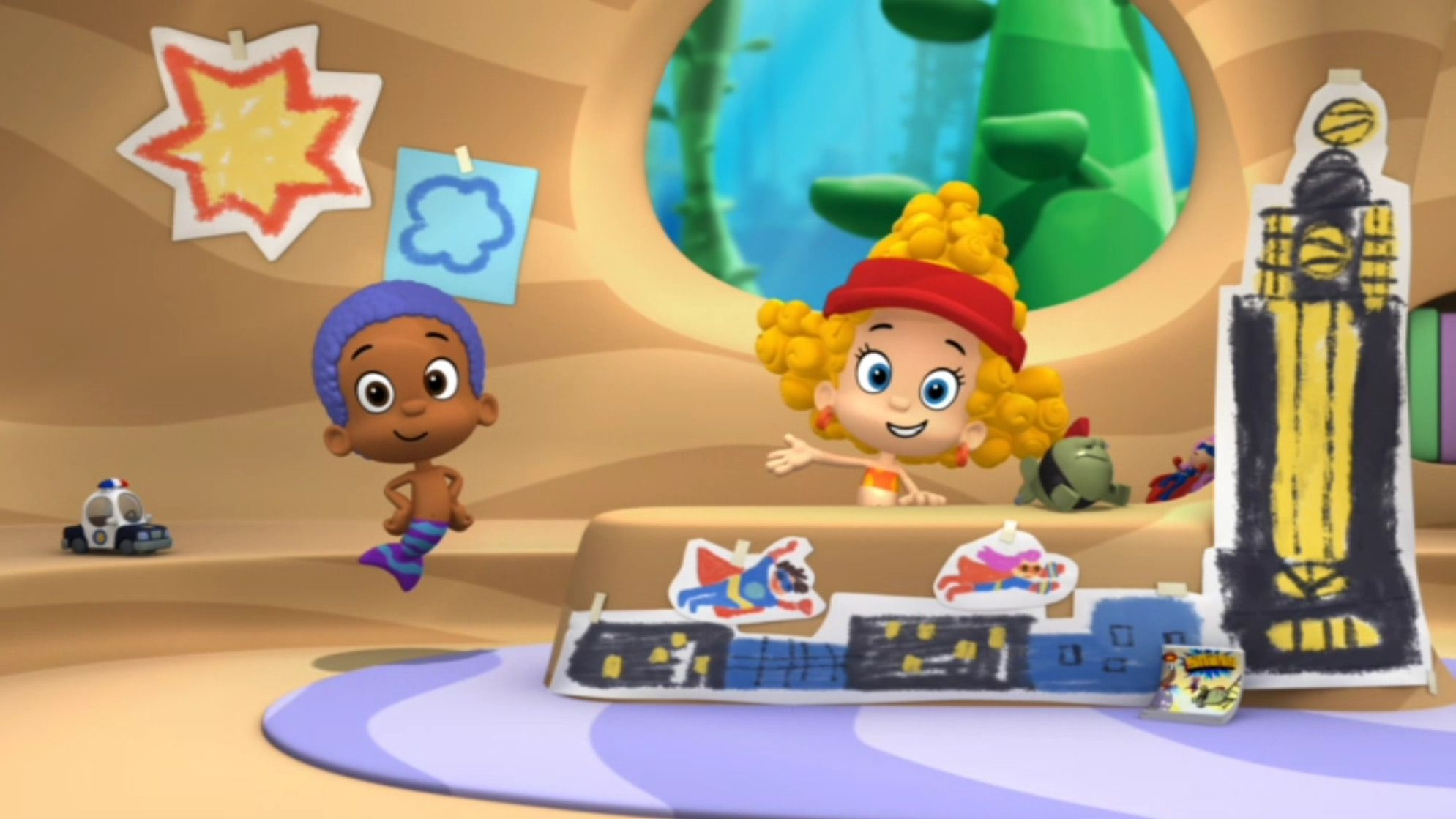 goby wants to be a great superhero nick jr super duper