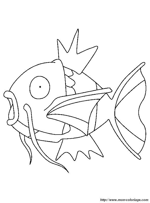 Picture Fish Pokemon Pokemon Coloring Sheets Pokemon Coloring