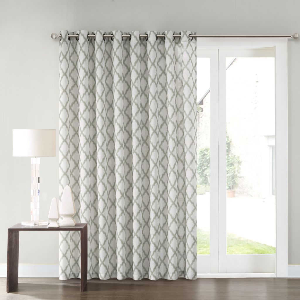 SONOMA Goods For Life™ Dallon Patio Door Curtain   100u0027u0027 ...