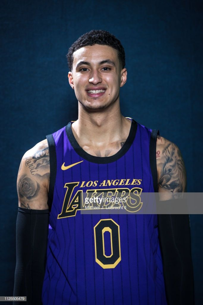 Kyle Kuzma Of The Los Angeles Lakers Poses For A Portrait During The Kyle Kuzma Kyle Los Angeles Lakers