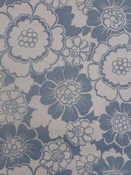 Papier Peint Vintage Fleurs Bleu Papier Peint Vintage Pinterest
