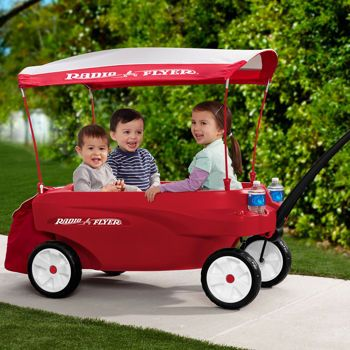 Costco Radio Flyer Triple Play Wagon