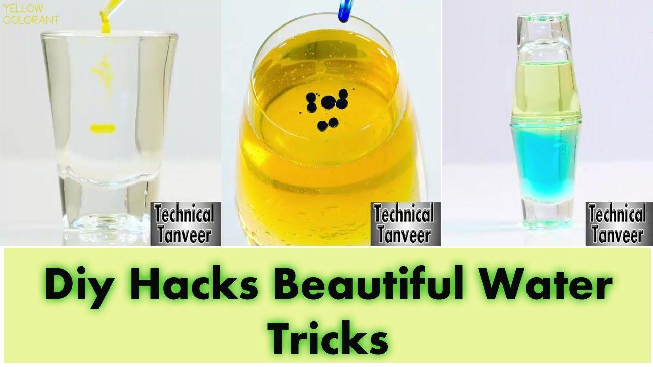 Diy Hacks Beautiful Water Tricks
