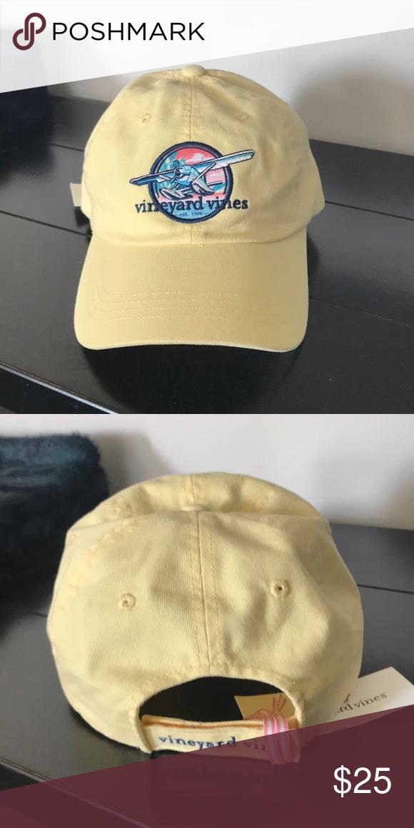 NWT {Vineyard Vines} Sea Plane Patch Hat. NWT. Vineyard