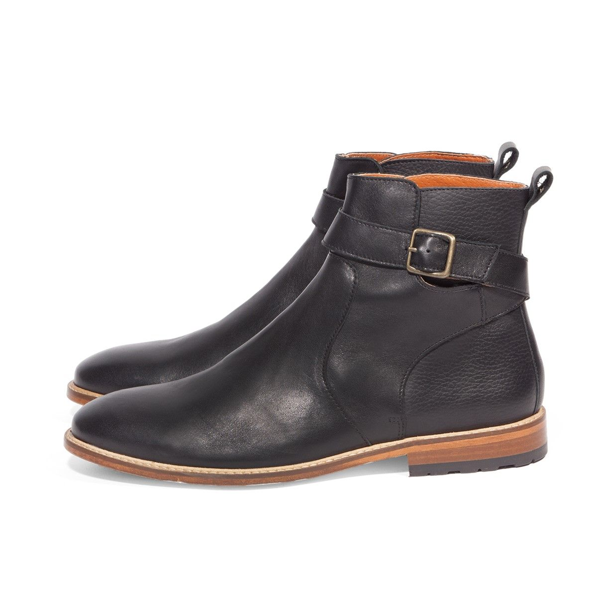Bottines en Cuir Gustave