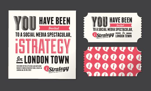 love the type, format and colours (and the fact it says 'London town')