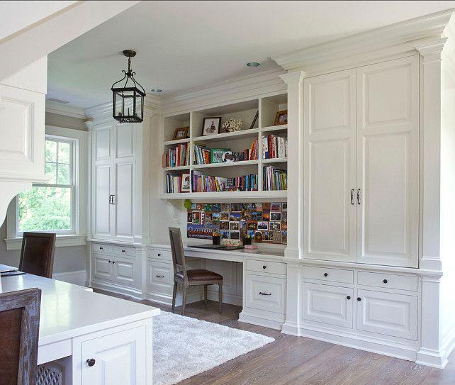 Classic Study Room Design: Classic Georgian Home Design