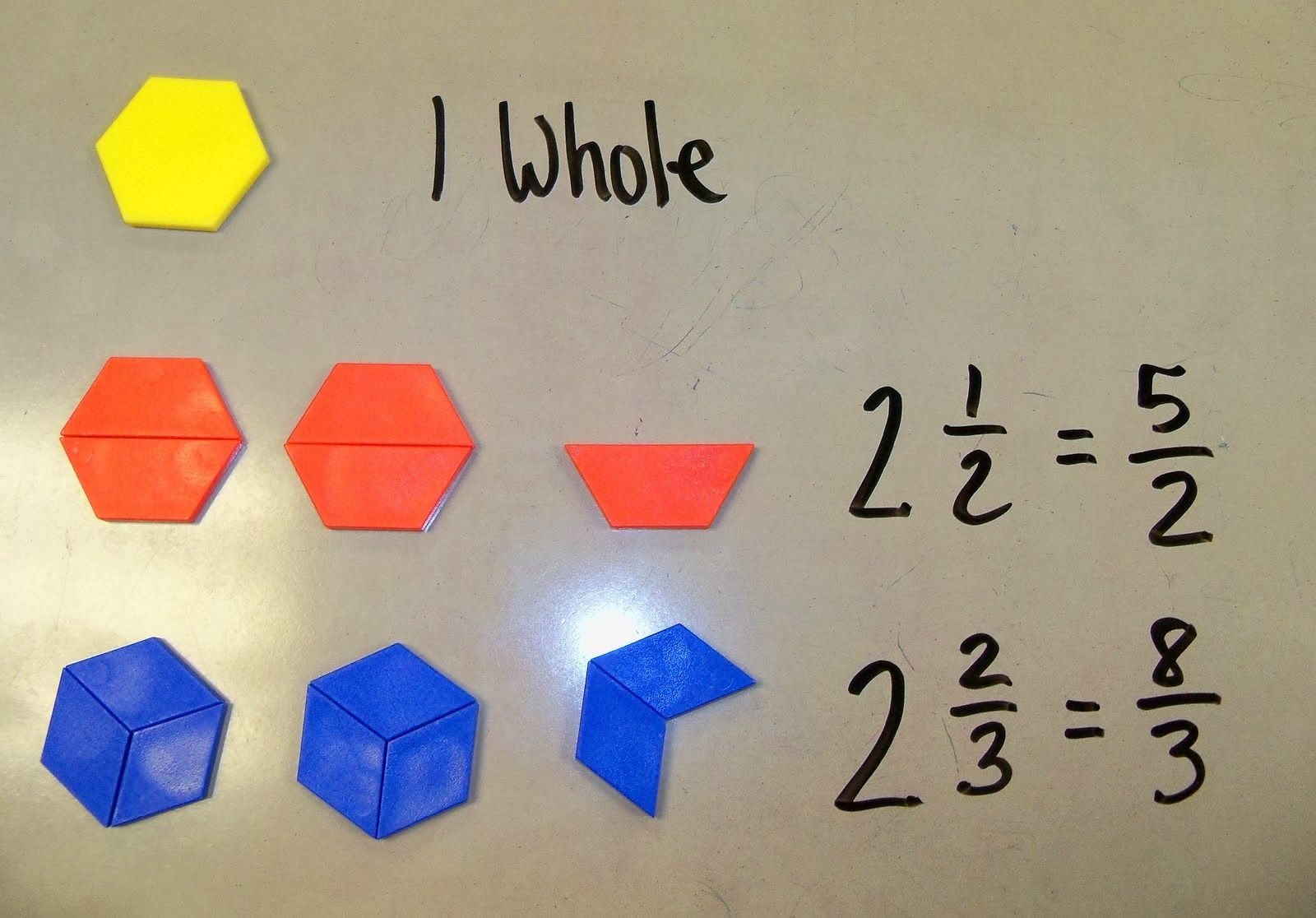 The 4th Grade May Niacs Mixed Numbers And Improper Fractions