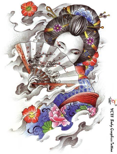 Japanese Art Geisha Buscar Con Google Tattoo Japan Tattoo
