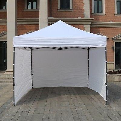 NEW EZ Pop Up Canopy 10 x 10 Commercial Fair Vending Tent 100% Waterproof & NEW EZ Pop Up Canopy 10 x 10 Commercial Fair Vending Tent 100 ...