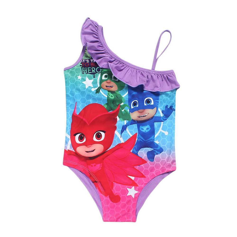 foto ufficiali classico goditi il prezzo più basso Costume da bagno bambina PJ Masks Super Pigiamini | Costumi da ...