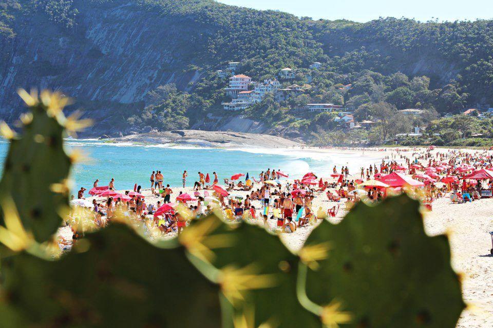 Beautiful Coastline beaches in Rio de Janeiro Brazil