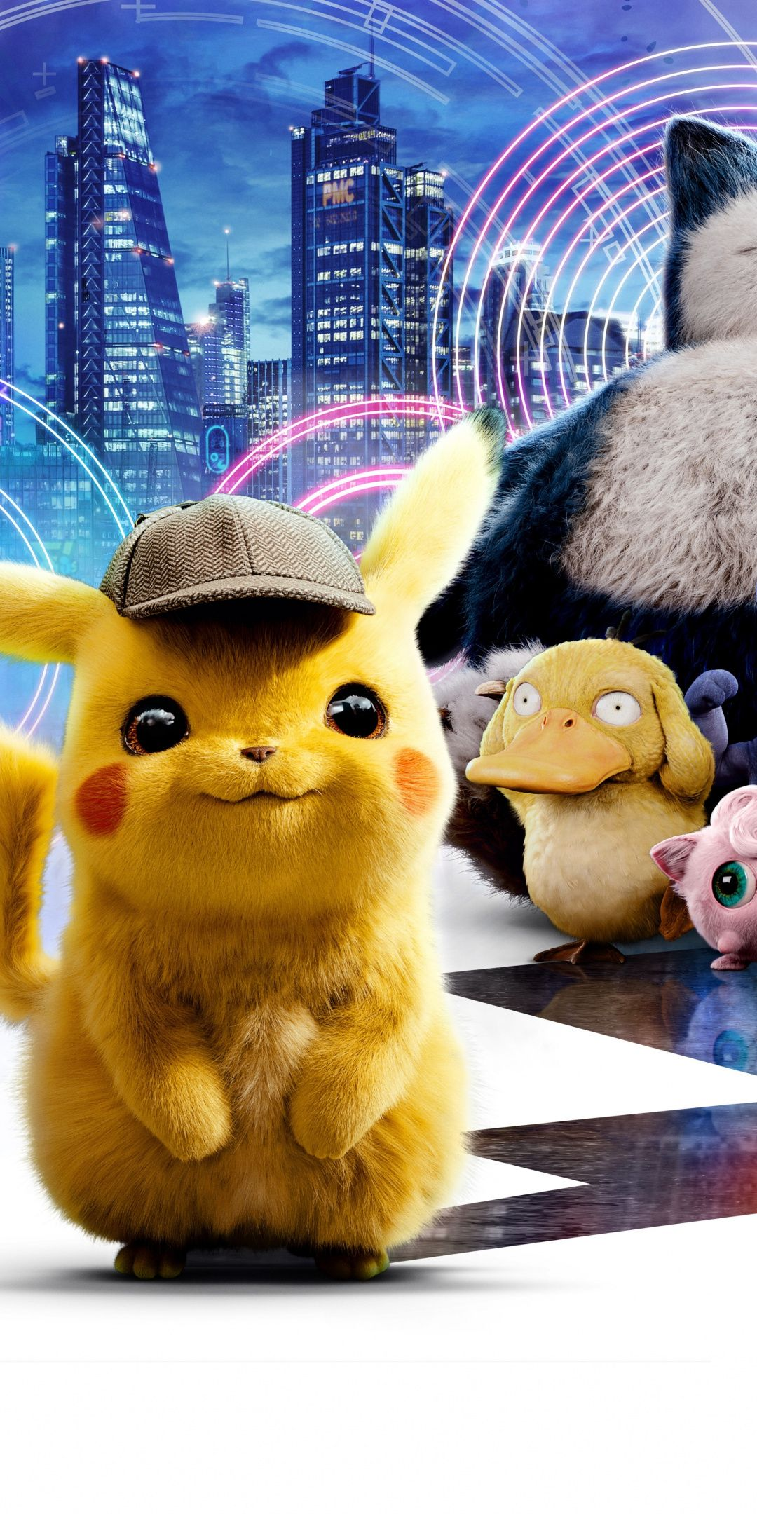 1080x2160 Movie 2019 Pokemon Detective Pikachu Pokemon Wallpaper Pikachu Pikachu Wallpaper Iphone Pikachu Art