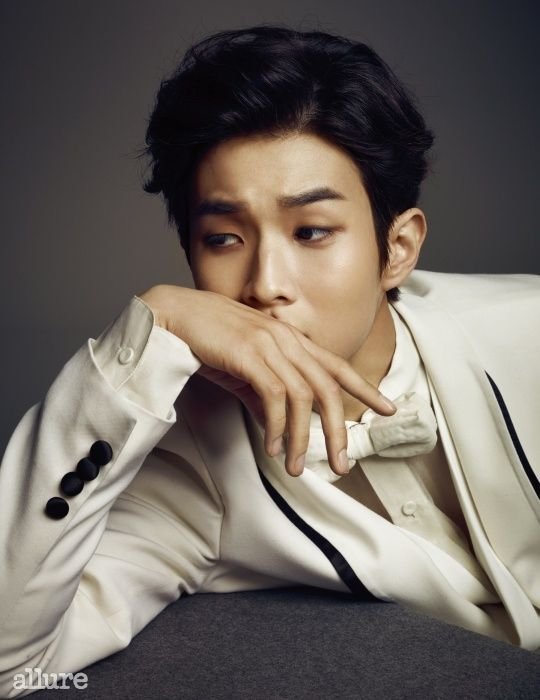 Choi Woo Sik - Allure Magazine March Issue '15