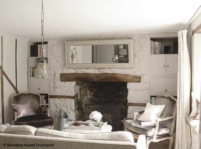 Visite d\'un cottage anglais - Elle Décoration | Salons, French ...