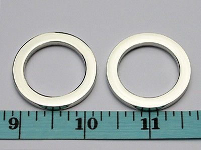 Rings 113341: Ac16g-Nl 50Pcs 1 X1-5 16 X4mm Nickel Alloy Flat O ...