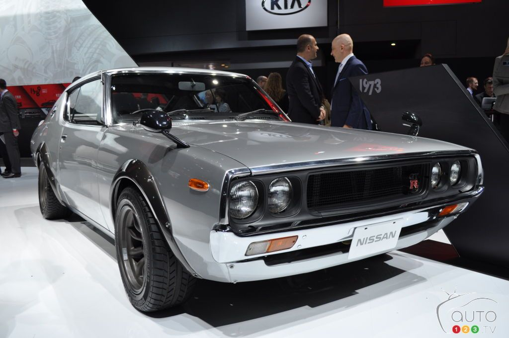 Top 10 classic cars at the 2016 New York Auto Show | 1973 Nissan ...