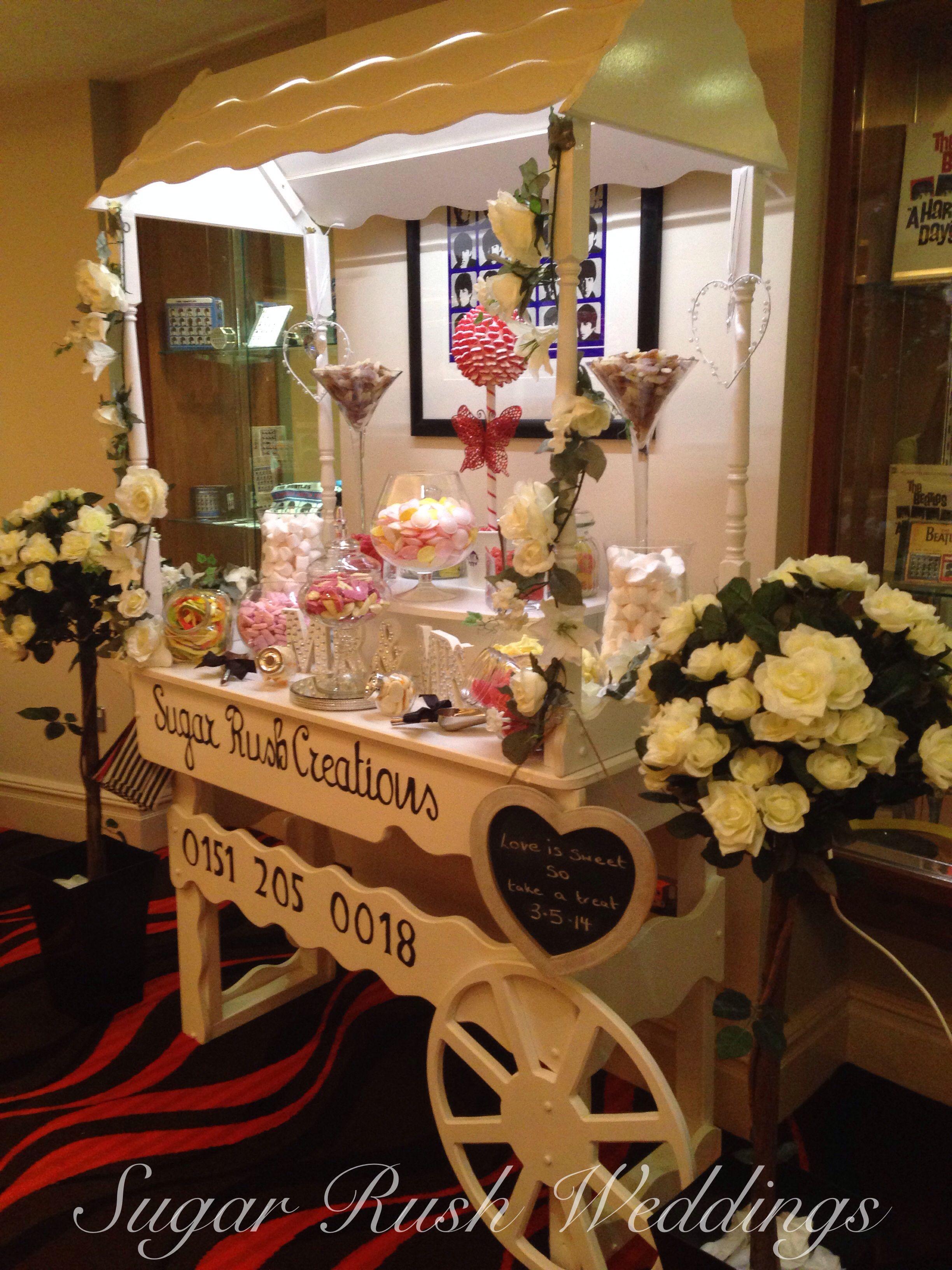 Wedding candy cart candy bar pinterest candy cart wedding and bar