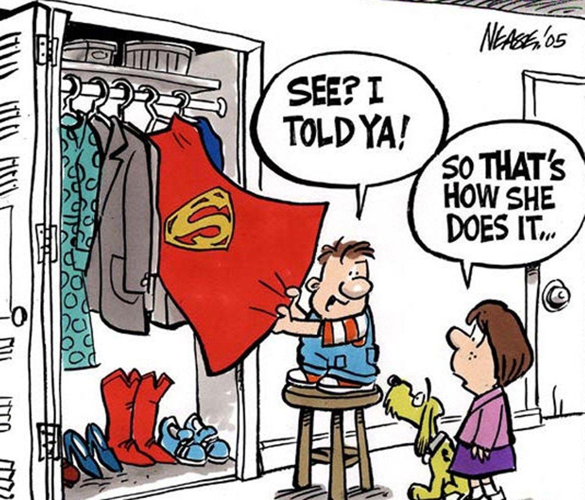 super-mom-cape-cartoon