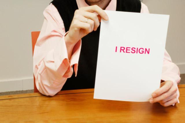 resignation email 24 hours notice
