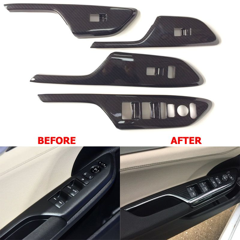 Car Door Armrest Decoration Trim Cover Window Switch Control Panel Auto Interior Accessories For Honda Civic 2016 Honda Civic Honda Civic Car Honda Civic 2016