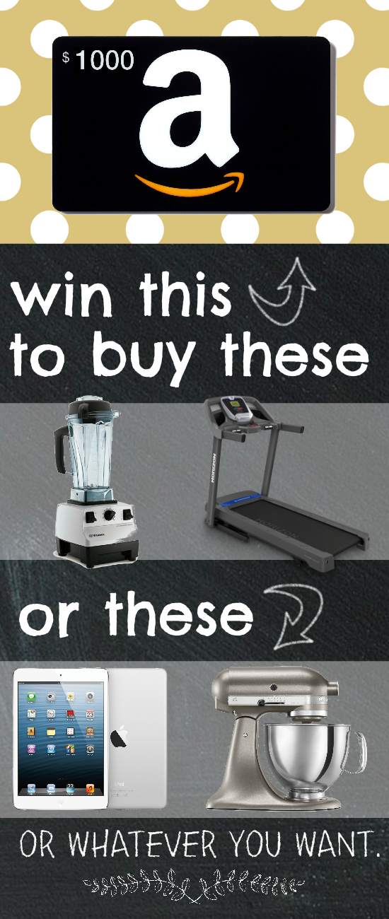 have you ever won an amazon giveaway