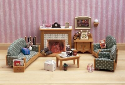 Luxury Living Room, Luxury Living Room Set Sylvanian Families